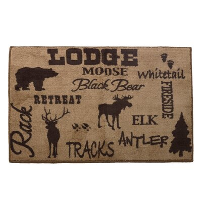 Ohanko Lodge Bath Rug