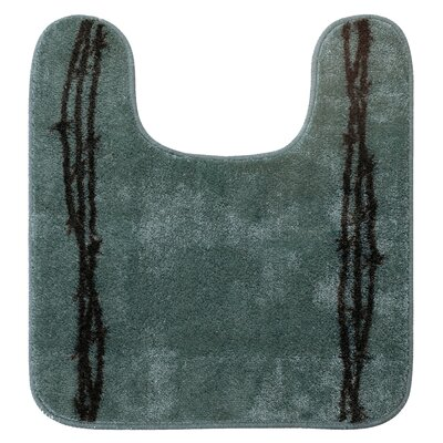 Richmond U Shaped Barbwire Contour Bath Rug Color: Turquoise