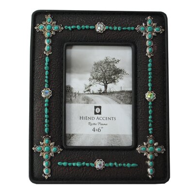 Creeves Crosses Jeweled Picture Frame BGRS2594 42894669