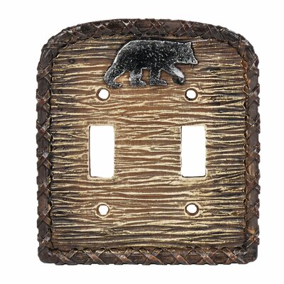Bear Double Switch Outlet Cover (Set of 4)