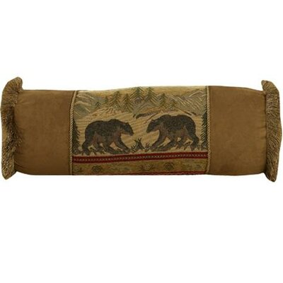 Grotto Bear Bolster Pillow
