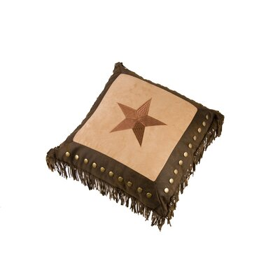 Star Embroidery Throw Pillow