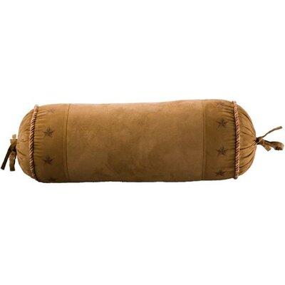 Star Suede Bolster Pillow