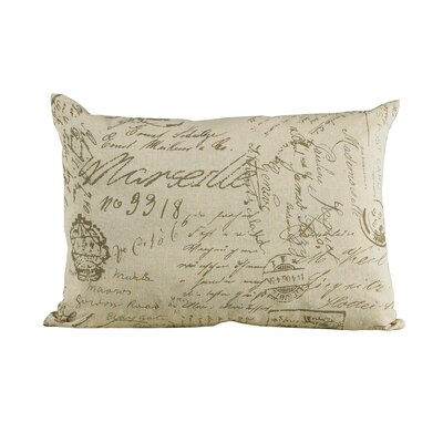 Dyann Linen Lumbar Pillow