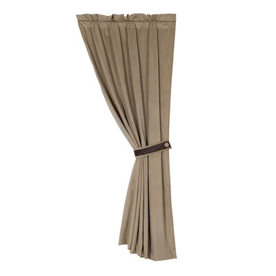HiEnd Accents Fairfield Velvet Rod Pocket Curtain Single Panel at Sears.com