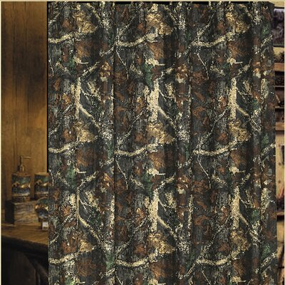 Oak Camo Shower Curtain