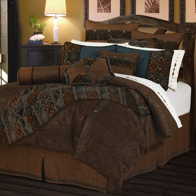 Alfonso Comforter Set Size: Super King
