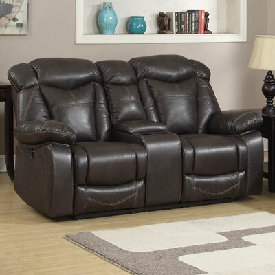 Otto Loveseat JYQ1483 AC Pacific Otto Leather Reclining Loveseat