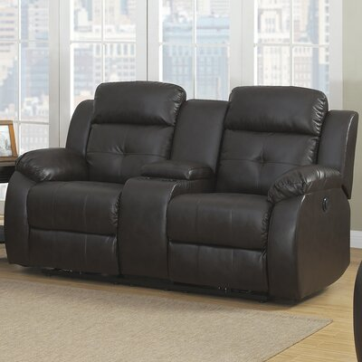Troy Transitional Reclining Sofa Type: Power