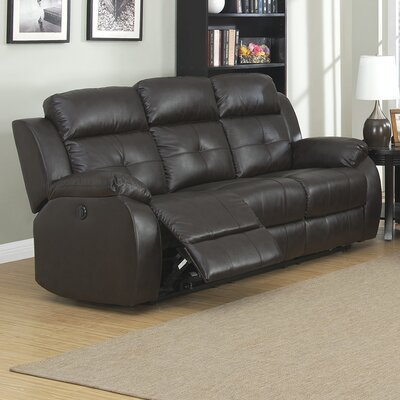 Troy Reclining Sofa Type: Power