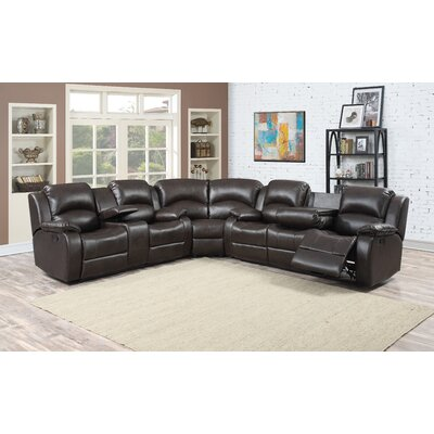 Samara Reclining Sectional with Ottoman
