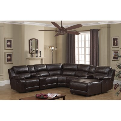 Colton Reversible Reclining Sectional Type: Power