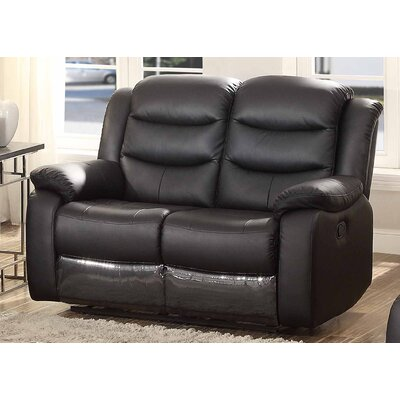 Bennett Leather Reclining Loveseat