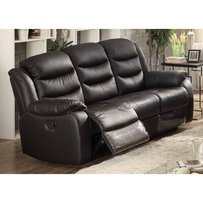Bennett Leather Reclining Sofa