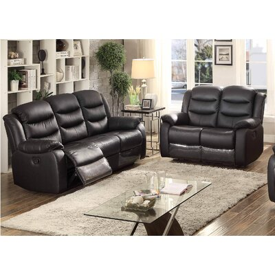 Bennett 2 Piece Leather Living Room Set