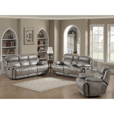 Estella 3 Piece Living Room Set Type: Manual