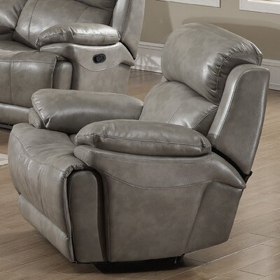 Estella Manual Glider Recliner Type: Power