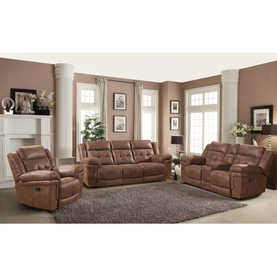 AC Pacific Kingston 3Pc. Set ( SOFA, LOVE AND CHAIR ) Kingston 3 Piece  Living Room Set