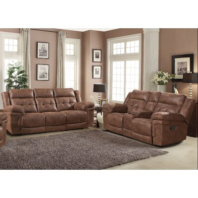 Kingston 2Pc. Set ( SOFA AND LOVE ) AC Pacific Living Room Sets