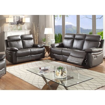 Ryker 2Pc. Set ( SOFA AND LOVE ) AC Pacific Living Room Sets