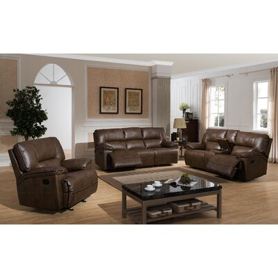 Dwayne 3Pc. Set ( SOFA, LOVE AND CHAIR ) AC Pacific Living Room Sets