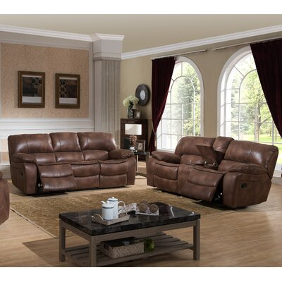 Leighton 2 Piece Reclining Living Room Set