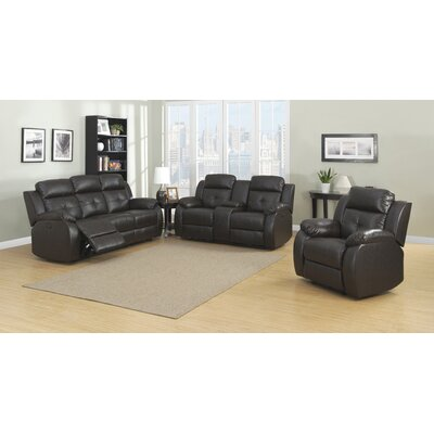 Troy 3 Piece Living Room Set