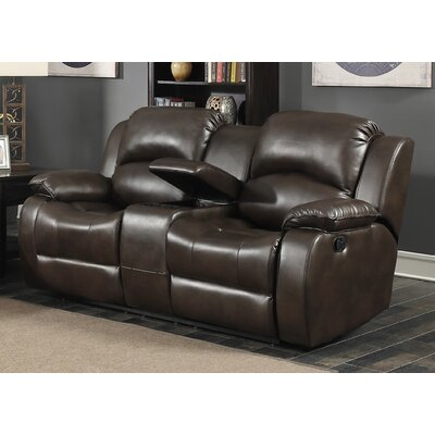 Samara Transitional Reclining Loveseat