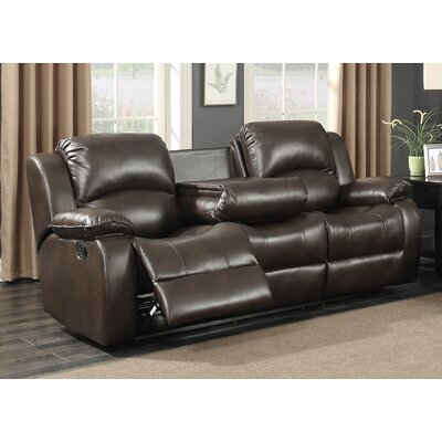 Samara Transitional Reclining Sofa
