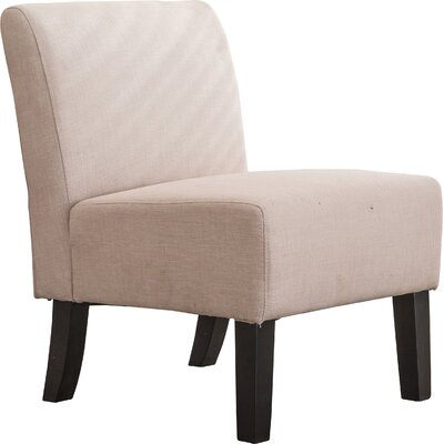 Armless Slipper Side Chair
