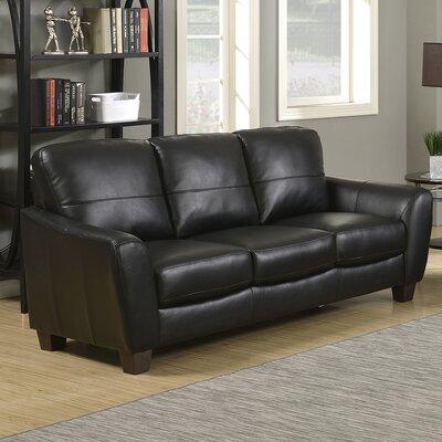 Sawyer Sofa Finish: Black