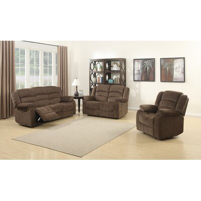 Bill 3 Piece Reclining Living Room Set