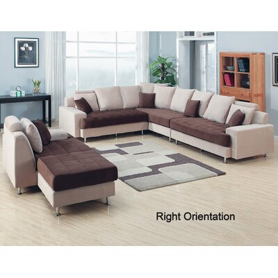 Modular Sectional Living Room Set Orientation: Right Hand Facing