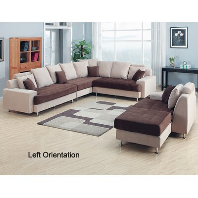 Modular Sectional Living Room Set Orientation: Left Hand Facing
