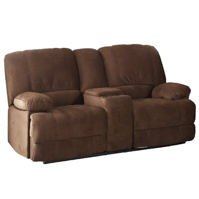 AC Pacific Kevin Reclining Living Room Loveseat KEVIN II BROWN CRL JYQ1679