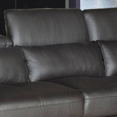Ron Leather Sectional Orientation: Left