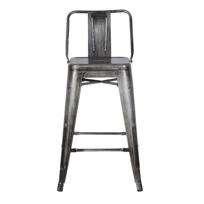 24 Bar Stool Finish: Vintage Pewter