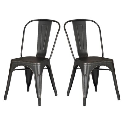 Norman Side Chair Finish: Black