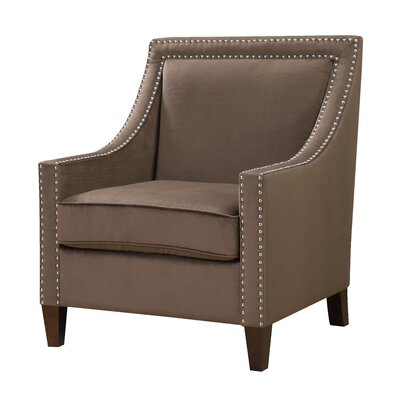 Christie Contemporary Fabric Arm Chair