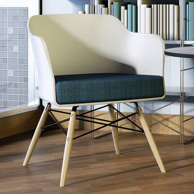 Briella Arm Chair Finish: White