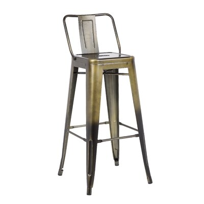 30 Barstool Finish: Brass Gold