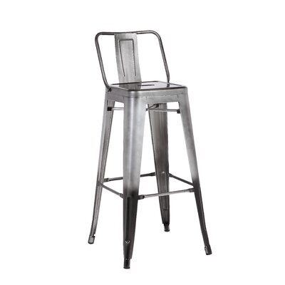 30 Barstool Finish: Pewter