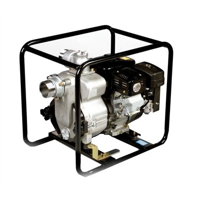 360 GPM Robin Engine Driven Trash Pump with Low Oil Sensor