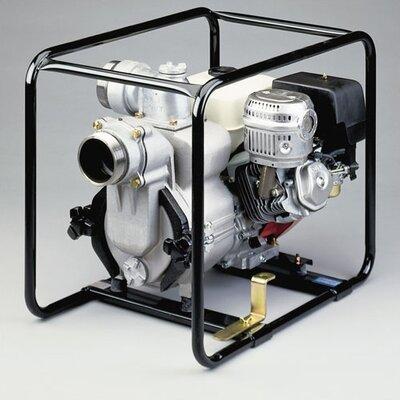 570 GPM Honda Engine Driven Trash Pump with Low Oil Sensor