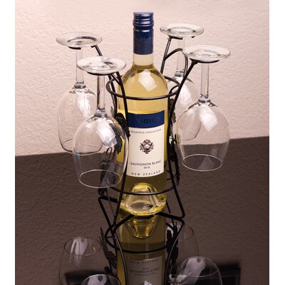 1 Bottle Tabletop Wine Bottle Rack