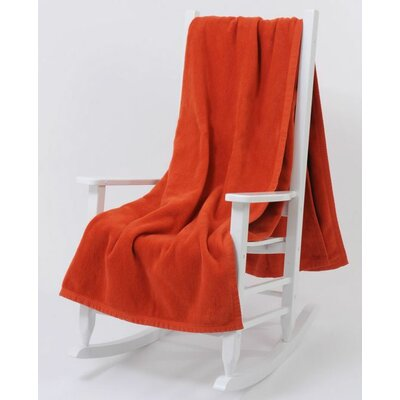 Blanket Color: Burnt Ochre, Size: Queen
