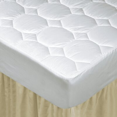 Luxury Cotton Mattress Pad Size: Twin