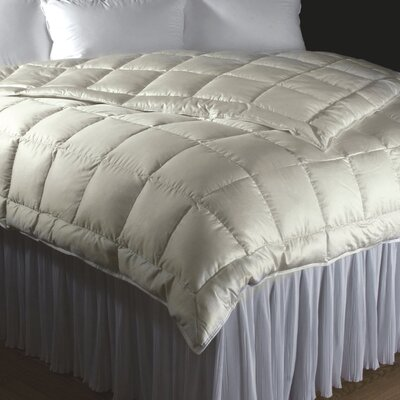 Willow Siberian Goose Down Comforter Size: Super King