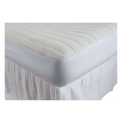 Luxurious Comfort Cotton Blend Mattress Pad Size: California King