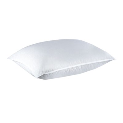 Hotel Goose Down Pillow Size: European